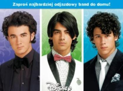 Przygody megaprzystojnych gwiazd muzyki pop Jonas Brothers już na DVD!