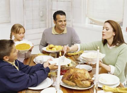 Przygotowania do rodzinnej uroczystości