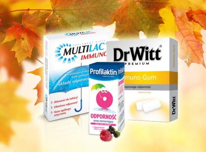 Przygotuj się na jesień! Przegląd 11 preparatów na wzmocnienie odporności