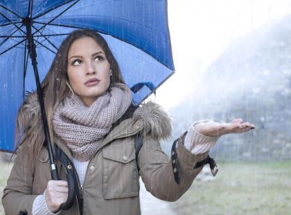 Przygotujcie parasolki! Czeka nas chwilowe załamanie pogody