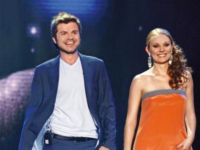 Przyjaciele: Ewelina Flinta i Łukasz Zagrobelny