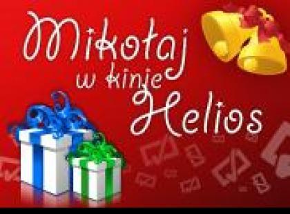 Przyjdź na spotkanie ze Świętym Mikołajem do Kina Helios Magnolia Park!