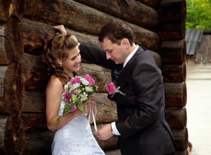 Przyjęcie weselne w domu