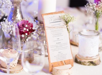Przykładowe menu weselne, czyli jak zaspokoić apetyt gości?