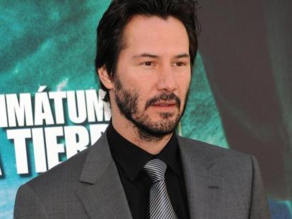 Przystojny Keanu Reeves w nowym filmie