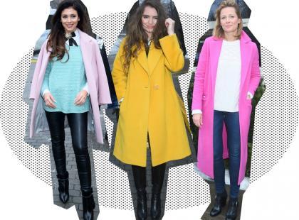 Przywołujemy wiosnę! Gdzie kupisz kolorowe płaszcze w stylu gwiazd?