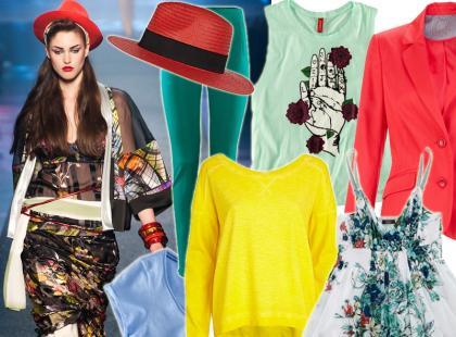Przywołujemy wiosnę! Przegląd kolorowych ubrań