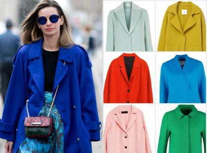Przywołujemy wiosnę! Wybrałyśmy 17 kolorowych płaszczy na przełom sezonów