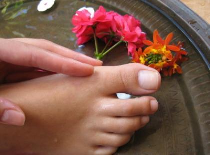 Puchnięcie stóp w ciąży