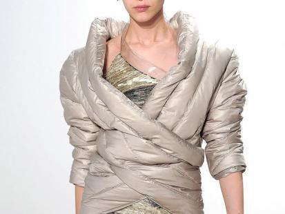 Puchowe kurtki i płaszcze - zima 2011