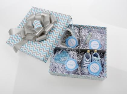 Pudełko ze skarbami – wyjątkowy prezent na chrzciny DIY