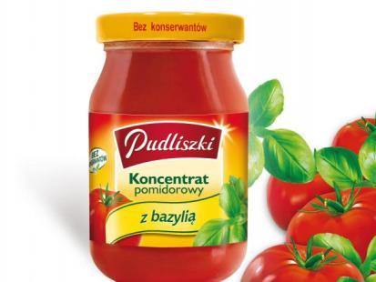 Pudliszki - Koncentrat z pomidorami i bazylią