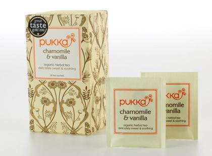 Pukka - ekologiczna herbata Chamomile&Vanilla