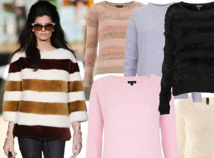 Puszyste swetry z polskich sklepów