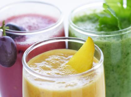 Pyszny owocowy napój - idealny na każdą porę roku