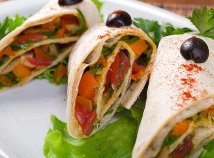 Quesadillas ze szpinakiem, czyli połączenie przyjemnego z pożytecznym