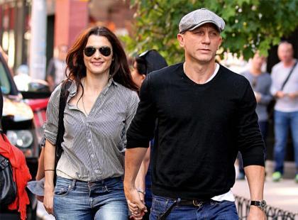 Rachel Weisz i Daniel Craig - Pierwszy wspólny dom