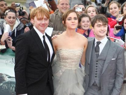 Radcliffe, Watson i Grint - Życie po bajce