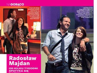 Radosław Majdan ma nową dziewczynę
