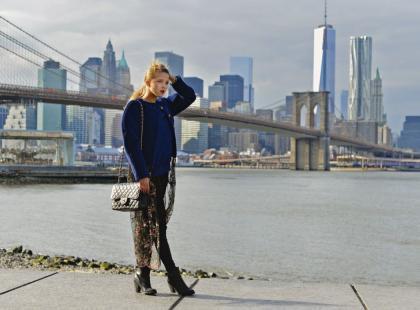 Raj dla fashionistek: Jessica Mercedes szaleje w Nowym Jorku