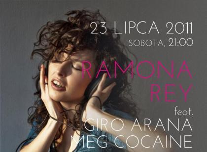 Ramona Rey w klubie Plaża Kraków