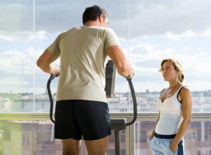 Randka w siłowni