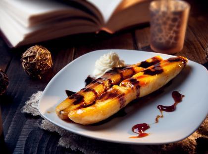 Rarytas dla najmłodszych - pieczone banany na kilka sposobów