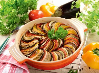 Ratatouille - danie kuchni śródziemnomorskiej