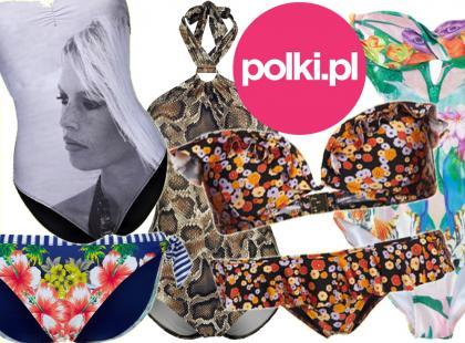 Redakcja Polki.pl wybiera ulubione modele kostiumów kąpielowych