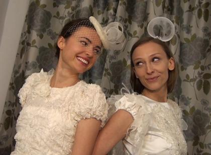 Redaktorki Polki.pl w najmodniejszych sukniach ślubnych 2013