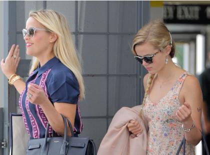 Reese Witherspoon i jej córka są tak do siebie podobne, że aż trudno w to uwierzyć