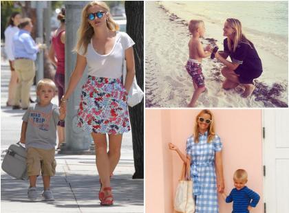 Reese Witherspoon na spacerze z synkiem. Czy można być jeszcze lepszą mamą?