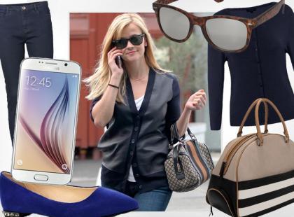 Reese Witherspoon stylowa również na co dzień