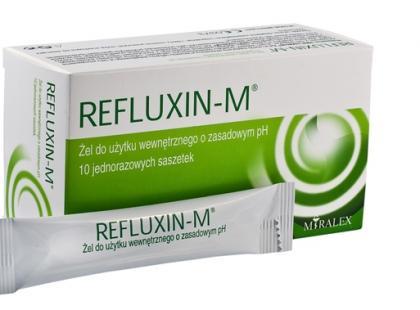 Refluxin-M - preparat na zgagę
