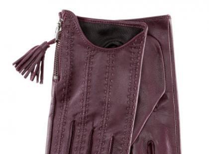 Rękawiczki skórzane - H&M