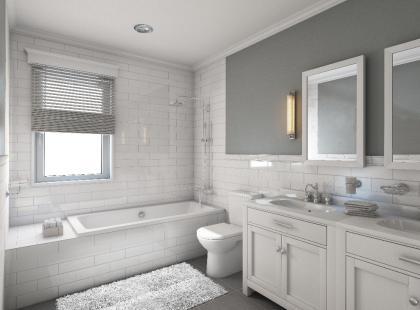 Remontujesz mieszkanie? Oto pomysł na łazienkę od IKEA!