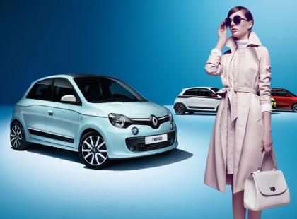 Renault Twingo i bizuu: Najbardziej kobieca para w mieście