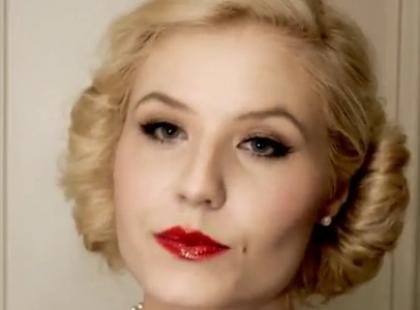 Retro makijaż w stylu lat 50.