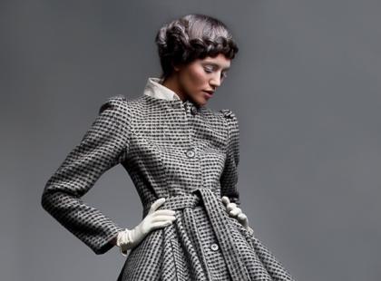 Retro-moda i klasyczne szarości - galeria inspiracji