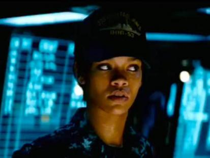 "Rihanna w filmie ""Battleship"""