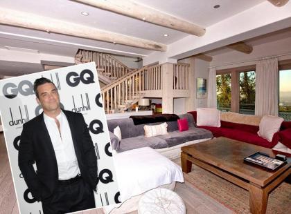 Robbie Williams sprzedaje dom - zobacz zdjęcia