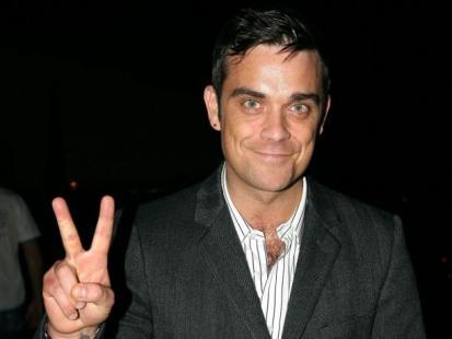 Robbie Williams zwariował