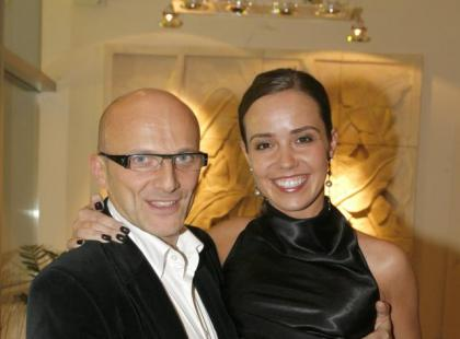 Robert Rozmus i Ewa Kwiatkowska