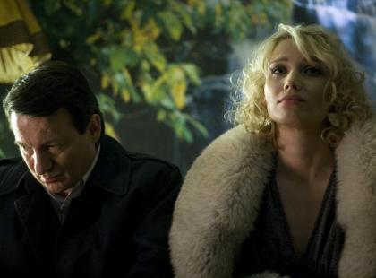 """Robert Więckiewicz i Joanna Orleańska w filmie """"Zwerbowana miłość"""""""