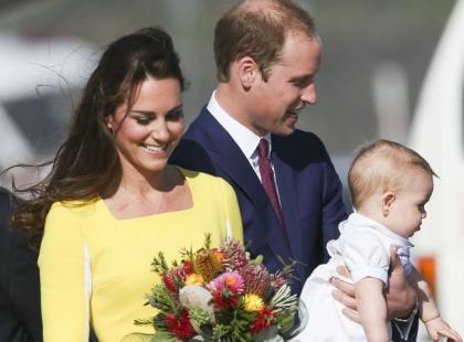 Rodzina jak z obrazka: Księżna Kate z mężem i synkiem w Nowej Zelandii