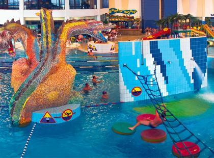 Rodzinna majówka w aquaparku