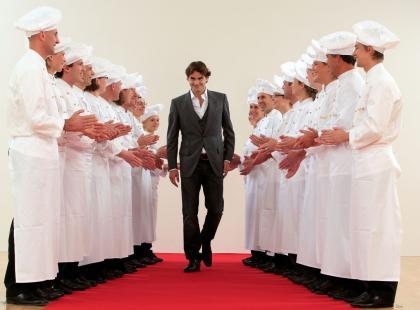 Roger Federer w promocji Lindt!