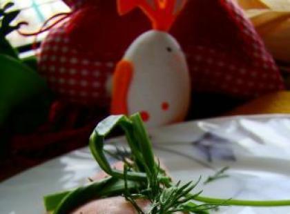 Roladki z polędwiczki z jajkiem