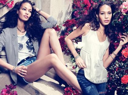 Romantyczne stylizacje od H&M na lato 2013