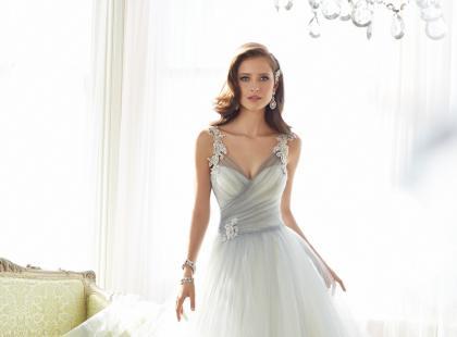 Romantyczne suknie ślubne 2015